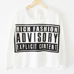 $8.24 Letter Print Long Sleeves Casual Style Cotton Blend T-Shirt For Women