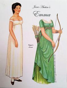 Souvenirs Paper Doll Convention Brenda Sneathen Mattox Jane Austen's Emma   eBay