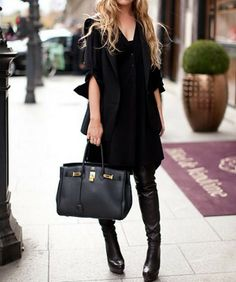 Slimming classic black.