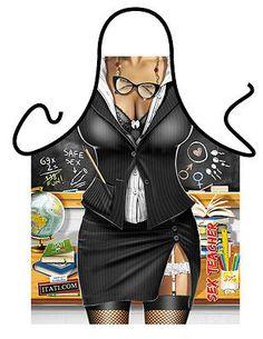 Kitchen apron sexy Teacher, funny aprons school teacher's gifts gag gifts,ITATI