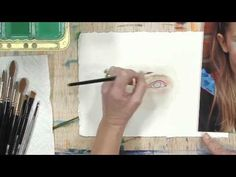 How to Paint an Eye with Watercolors: Part 2 Plus ... Jerry's Artarama has lots of how to videos