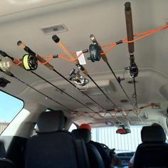 Homemade Car Rod holder