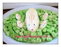 Marshmallow Easter Bunnies