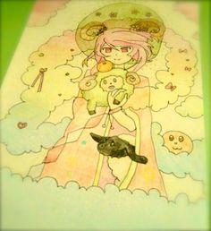Cute Anime Girl :3 by lindepet.deviantart.com on @DeviantArt