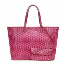Goyard Saint Louis Tote Bag GM Rose Red