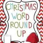 Here is a Christmas Gift from me to you!   Help Santa's elves round up all the Christmas words before Christmas. Place the pictures around the room...