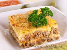 Лазанья. Lasagna. Definitely gonna try to make it sometime soon.