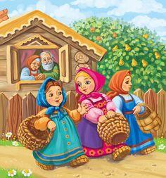 Просмотреть иллюстрацию Маша с подружками из сообщества русскоязычных художников автора Вера Север-Баннова в стилях: Детский, нарисованная техниками: Растровая (цифровая) графика.