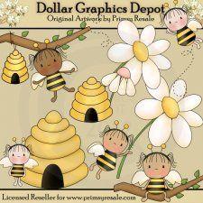 Bumble Bee Fairies