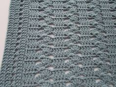 My best selling crochet pattern! The Interlocking Shell Stitch Crochet Blanket produces a very classy and elegant blanket. Instructions are included to make it ANY SIZE! It is an easy pattern that produces impressive results. The pattern is suitable for a girl or boy. Make it in all