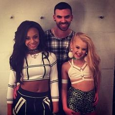 Nia and Jojo on the set of Nia Sioux's music video, Star In Your Own Life