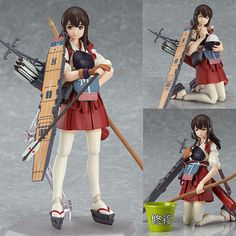 Figma 222 Akagi Kantai Collection Kan Colle Anime Figure Max Factory Japan Now available at Figure Central (^o^)