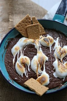 S'mores dip #sweets #smores