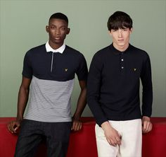 Lyle & Scott Vintage Spring/Summer 2013 Collection: 1980s Retro Casual Sports Inspired Lightweight Knitwear Garments For Modern Young Men