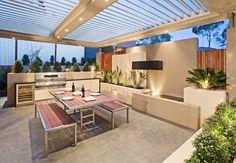 Modern Outdoor Barbecue Spaces - Creativeresidence