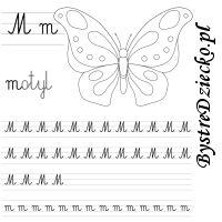Nauka pisania literek – M jak motyl Barn, Converted Barn, Barns, Shed, Sheds
