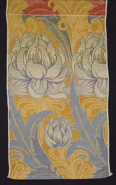 Sample    Place of origin:  Great Britain (made)    Date:  ca. 1900 (designed)    Artist/Maker:  C. F. A. Voysey, born 1857 - died 1941 (designer)   Alexander Morton & Co. (designed for)    Materials and Techniques:  Silk and wool double cloth