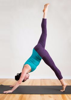 Sun Salutation variation specifically designed with your runner body in mind. This sequence is full of hip openers, hamstring stretches, quad and glute toners, and lower back lengtheners.
