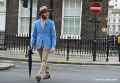 Day One At London Men's Collections.
