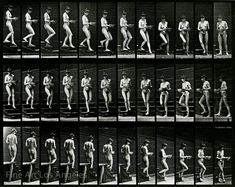 Eadweard Muybridge Photo, Motion Study, Woman Walking Down Steps, by FineArtLosAngeles on Etsy Figure Drawing Reference, Animation Reference, Pose Reference, Fine Art Photo, Photo Art, Midsummer Night's Dream Characters, Photo Flip Book, How To Draw Stairs, Edward James