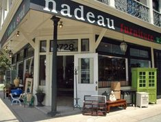 Nadeau Furniture with a Soul on Magazine St. New Orleans