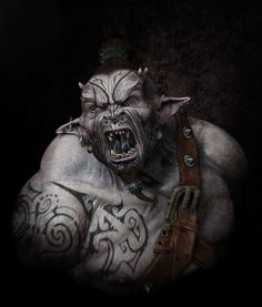 Orc Maori, computer generated by Nicolas Collings