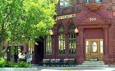 The Original Clementine's, in downtown South Haven, occupies the old Citizen's Bank building and is steeped in the past. I remember when this was the bank. My grandparents banked there.