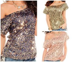 COWGIRL GLAM TOP Sequin Off The Shoulder Short Sleeve Western Top