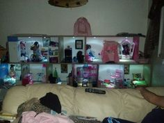 Matt and Merri Pauley's American Girl DIY dollhouse