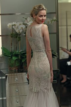 "Badgley Mischka Bridal Fall 2013  ""Pisces"" I wish I could own this dress!"