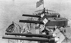 USS Delaware, BB-28 ... Stern main battery.