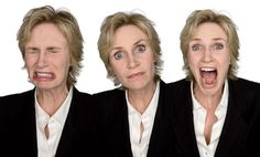 jane lynch acting in character