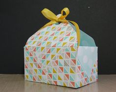 Make a Basket or Gift Bag with the Envelope Punch Board