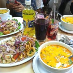 Peruvian food at its finest! Yummy!