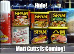 Matt Cutts Spam