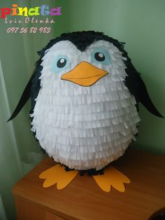 Піньята пінгвін.