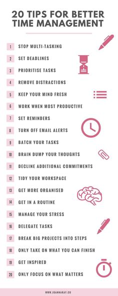 20 Time Management Tips When You Work From Home | Zeitmanagement Hacks und Tipps für das Arbeiten im Home Office