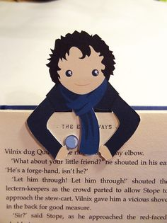 Marcador de Sherlock por bethydesigns en Etsy, £2.50