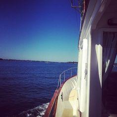 Cruising in Morton Bay