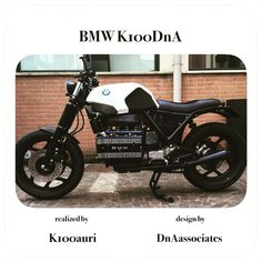 #bmw #k100 by k100auri & #dnaassociates #scrambler #caferacer #special #customized #tuning