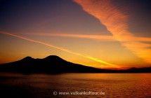 Vesuv bei Sonnenaufgang