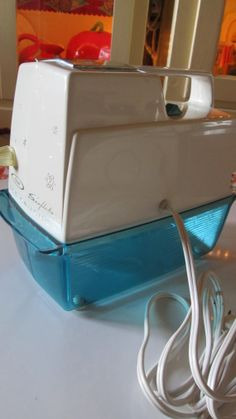 Oster Snowflake Ice Crusher / 1950's Kitchen / by VandyleeVintage