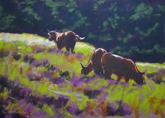 View The Highlanders by Denise Mitchell. Browse more art for sale at great prices. New art added daily. Buy original art direct from international artists. Shop now
