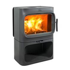 Jøtul F 305 Stove Design: Anderssen og Voll Timeless Design, Modern Design, Multi Fuel Burner, Wood Stove Cooking, Pellet Stove, Red Dot Design, Stove Fireplace, Uk Homes, Wood Burner
