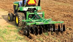When caring for a small farm, you don't necessarily need large tractors or implements; smaller no-till and traditional tillage implements could be the best bet for your property. Compact Tractor Attachments, Garden Tractor Attachments, Food Plots For Deer, Homemade Tractor, Small Tractors, Lawn Tractors, Utility Tractor, Tractor Implements, Homestead Farm