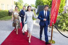 Prince Daniel Prince Mary of Denmark Photos Photos - Prince Mary of Denmark, Princess Victoria of Sweden, Prince Frederik of Denmark, and Prince Daniel of Sweden attend an official dinner at Eric Ericssonhallen on May 29, 2017 in Stockholm, Sweden. - Danish Royals Visit Sweden - Day 1