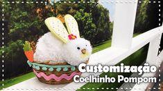 Programa Arte Brasil exibido dia 15/03/2017 Aprenda como fazer esse coelhinho com a Ligia Santana e produtos We Care About! Lista de Materiais: Faz Pom Pom d...