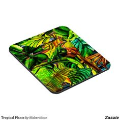 Keep your table protected with Tropical coasters from Zazzle! Tropical Plants, Drink Coasters, Beverage, Photoshop, Painting, Products, Drink, Coaster