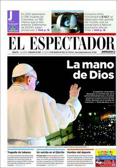La elección del Papa Francisco recorrió las principales portadas de la prensa internacional
