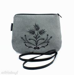 • unikatowe na ramię, torebki - minitorebka wyszywana gretino